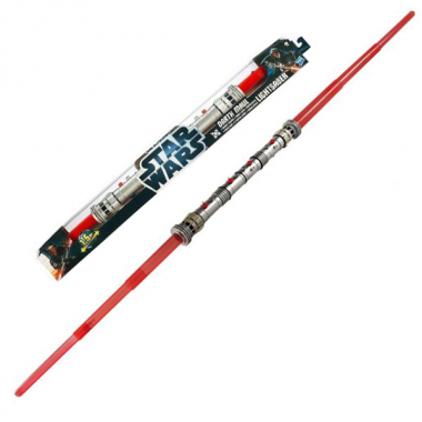 Double sabre laser de Darth Maul
