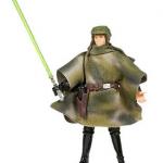 Figurine de Luke Skywalker pendant la bataille d'Endor