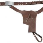 La ceinture de Han Solo avec son étui pour revolver
