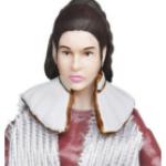 Figurine vintage de la princesse Leia import Japon