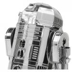 Maquette en métal de R2D2
