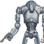 Figurine d'un Super Droid