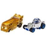 Les voitures de Z6PO et de R2D2