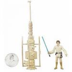 Figurine de Luke Skywalker sur Tatooine