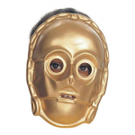 Un demi masque du droide C3PO alias Z6PO