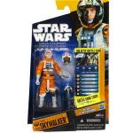 Luke Skywalker en tenue de pilote de chasseur X