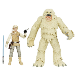 Luke Skywalker et un terrifiant Wampa de la planète Hoth