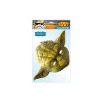 Masque en carton maitre Yoda