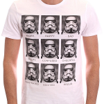 T-shirt emotions Stormtrooper