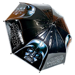 Parapluie noir Dark Vador pour garçons