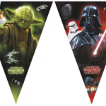 Fanion Yoda et Dark Vador