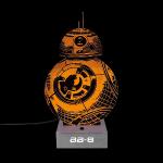 Lampe StarWars effet 3D – BB8