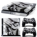 Autocollant Stormtrooper playstation PS4