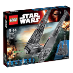 Vaisseau de commande de Kylo Ren en Lego