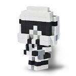 Personnage pixel 3D Stormtrooper