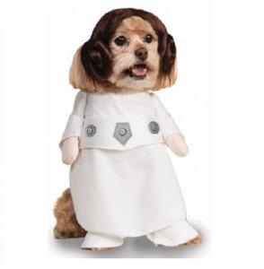 Vetement pour chien princesse Leia