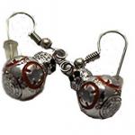 Boucles d'oreilles Cosplay droide BB8