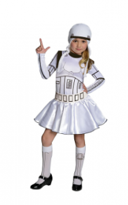 Déguisement fille Stormtrooper