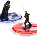 Figurine Dark Vador et Luke Skywalker pour decoration de gateau