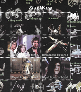 Timbres de collection StarWars