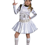 Costume fille Stormtrooper