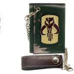 Portefeuille logo métal Boba Fett