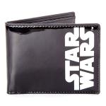Portefeuille noir logo Starwars