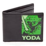 Portefeuille noir maître Yoda
