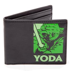 Portefeuille noir maitre Yoda