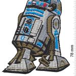 Ecusson droide R2D2