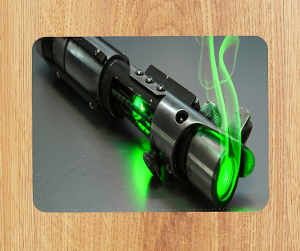 Tapis de souris sabre laser
