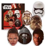 Masques en carton – Le Réveil de la Force