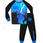Pyjama luisant Dark Vador combat Luke Skywalker