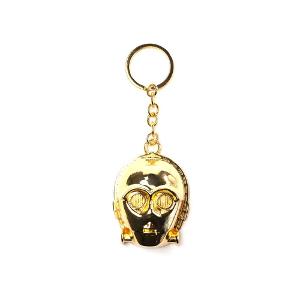 Porte-clés doré Z6PO