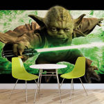 Papier peint maître Yoda