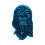 Moule à biscuit bleu Chewbacca