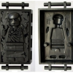 Mini-figurine légo Han Solo carbonite