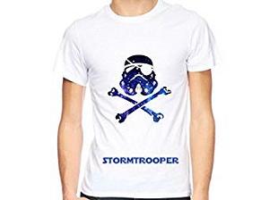Tshirt tête de mort Stormtrooper