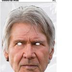 Masque en carton Han Solo