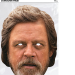 Masque en carton Luke Skywalker