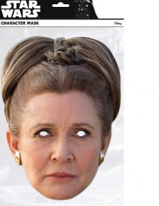 Masque en carton princesse Leia