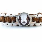 Bracelet tressé ordre Jedi