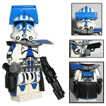 Figurine personnalisée Starwars Lego Capitaine Torros