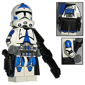 Figurine Lego personnalisée soldat clone
