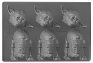Bac à glaçons maître Yoda - R2D2