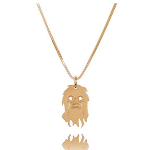 Collier femme 24 carats – Chewbacca
