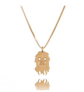 Collier femme 24 carats - Chewbacca