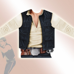 Costume Han Solo manches longues