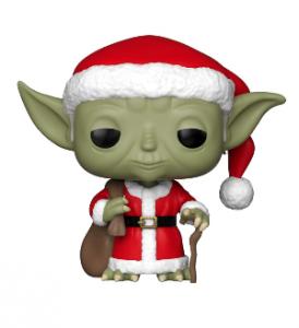 Figurine maître Yoda père Noël