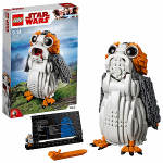 Jeu de construction Lego oiseau Porg